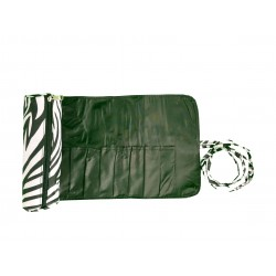 HY008-2006 Big Around Brush Rolling Bag Zebra