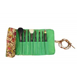 HY008-501-G Big Around Brush Rolling Bag New Owl Green Trim