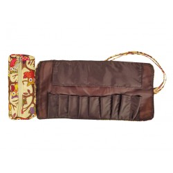 HY010-501-C Small Around Rolling Bag New Owl Brown