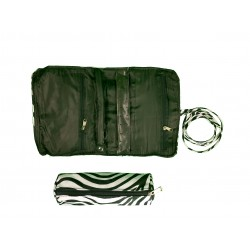 HY011-2006 2pcs Jewelry Bag Zebra