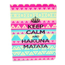 Apple iPad  2nd, and 3rd Generation Compatible,  Pink Keep Calm and Sparkle Folding Folio Case