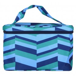 NC70-36-GB collapsible makeup bag Blue Gemostric