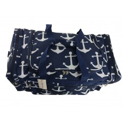 "ND22-A-NW Blue background Anchor 21"" Duffel Bag"