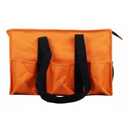 NT19-158C Solid Orange Patterns 7 pockets tote bags, Utility bags, Diaper bag and Market bag