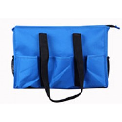 NT19-2945C Solid Royal Blue Patterns 7 pockets tote bags, Utility bags, Diaper bag and Market bag