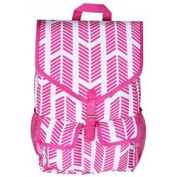 """NTP1-22-P best backpack 18"""" Pink white Trendy Arrow Backpack"""
