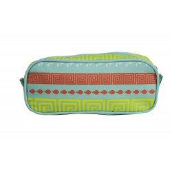 P1-16-TO Pencil Case Pink Small Quatrofoil Pattern